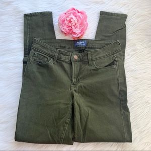 Old navy rockstar mid rise pants, size 4
